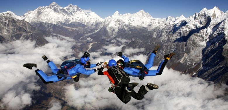 Everest Skye Diving- Adventurous things to do in Nepal