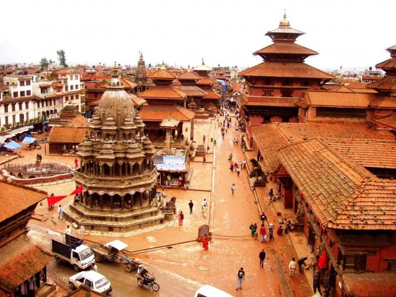 Nepal travel-kathmandu Durbar Marg
