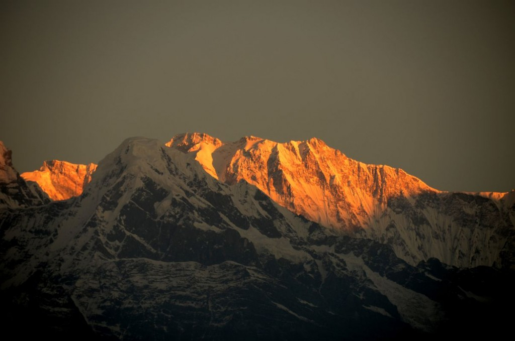 Sunrise in Pokhara