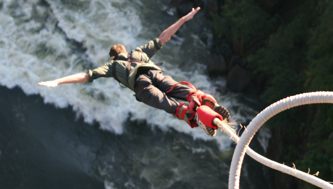 Travel nepal -bungee jumping