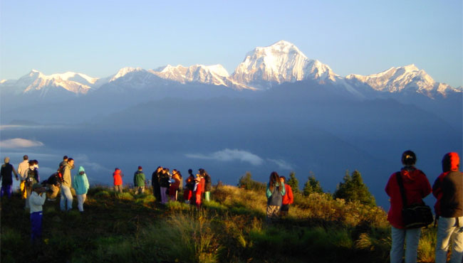 Nepal travel- ghorepani poon hill trek