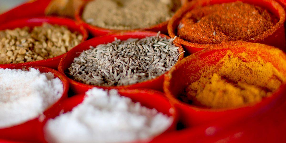 Nepali spices.