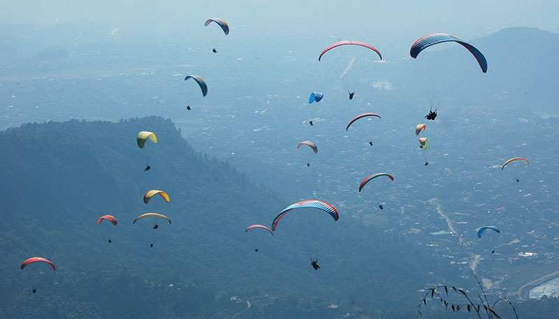 paragliding in nepal - Adventurous things to do