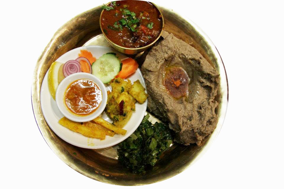 Dhido -Healthy Nepali Food