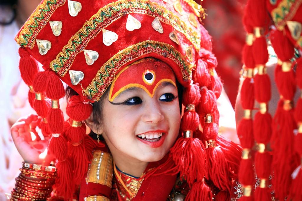 Living Goddess Kumari From Nepal