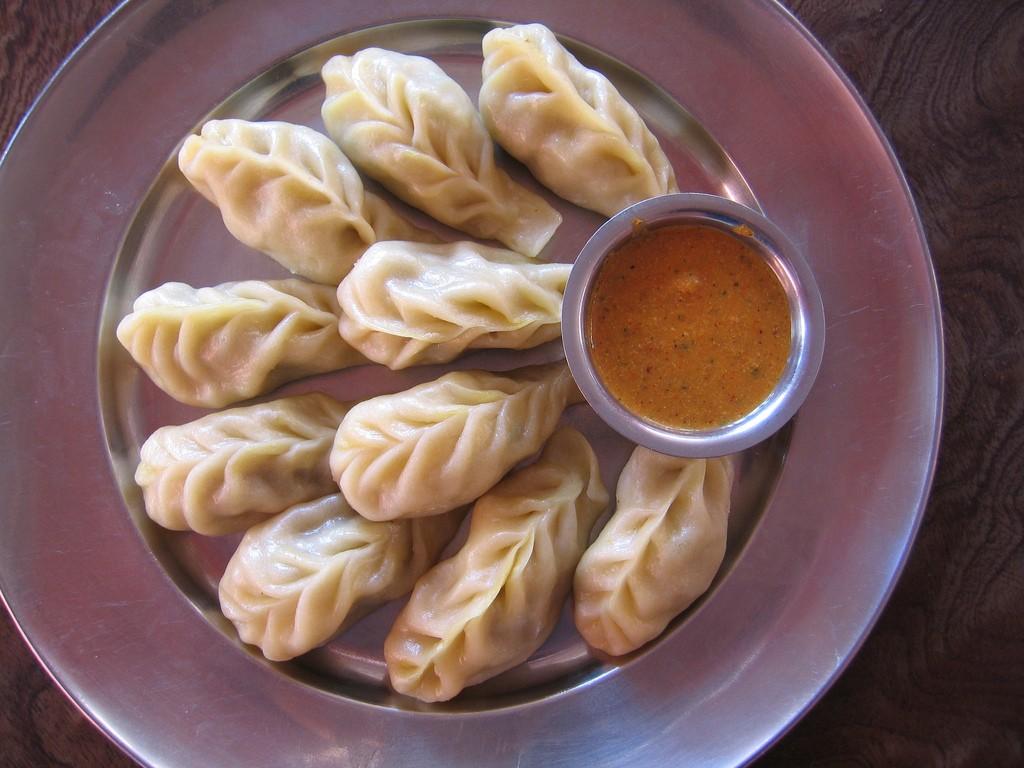 Delicious Nepali food- Momo