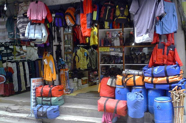Trekking in Nepal- rental gears