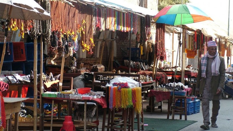 bazaar in Kathmandu