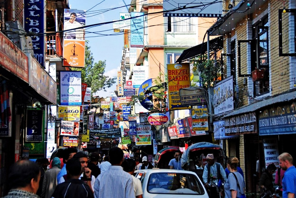 Walking in Thamel - Fun things to do in Kathmandu