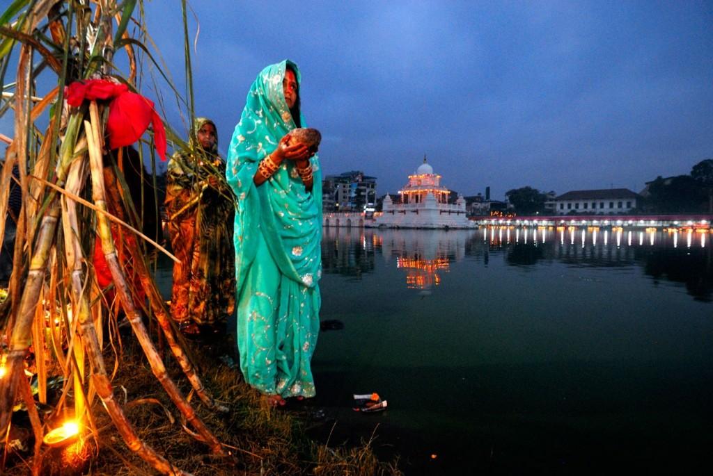 Chhath festival in Nepal