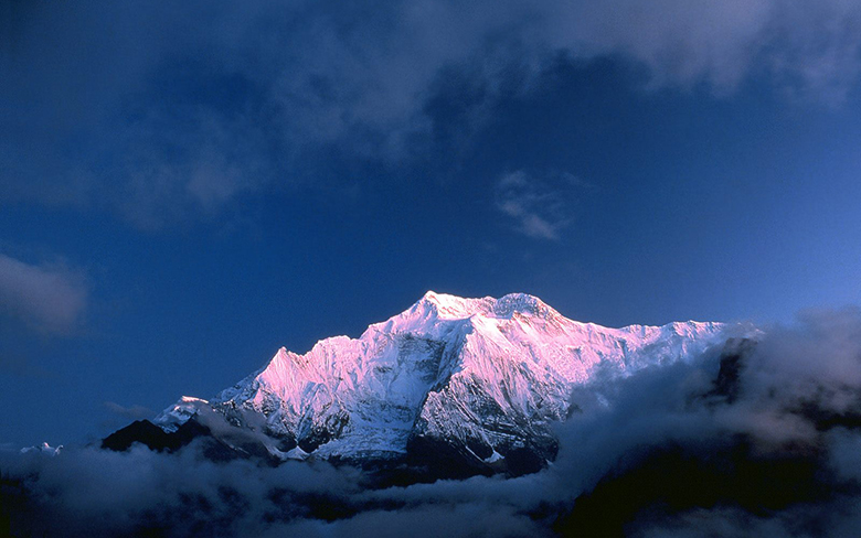 Mountains photography in Nepal