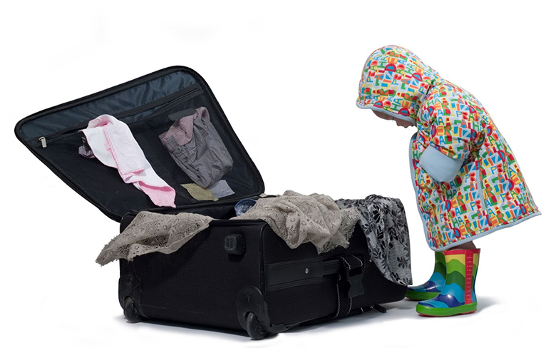 learn to pack while planning a trip