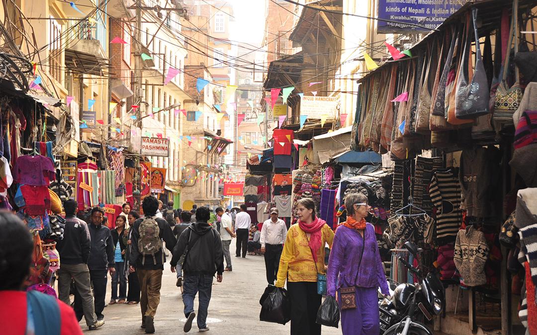 Tourists guide to kathmandu