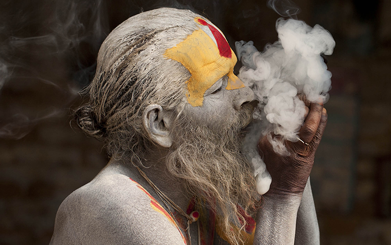 sadhus for photography in Nepal