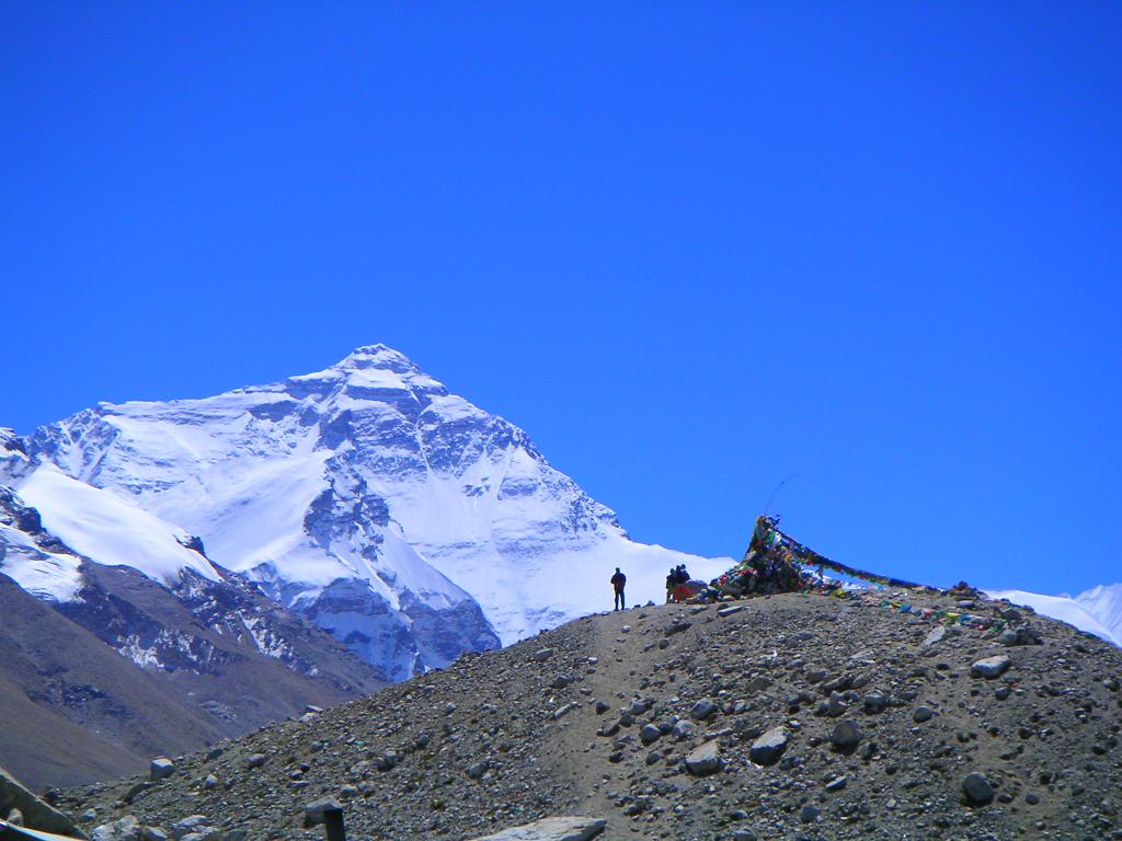 Everest base camp in december