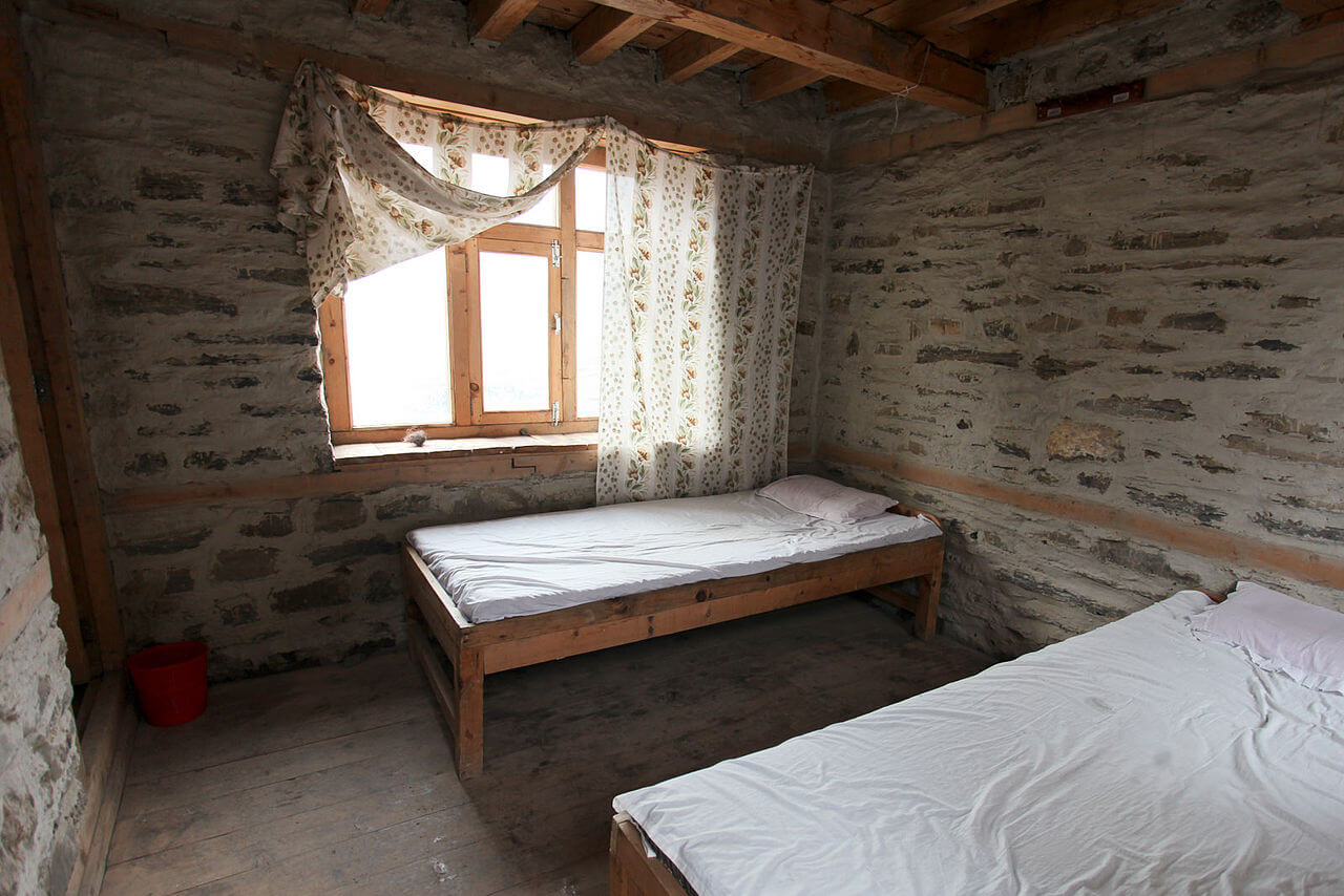 Accommodation in Manaslu