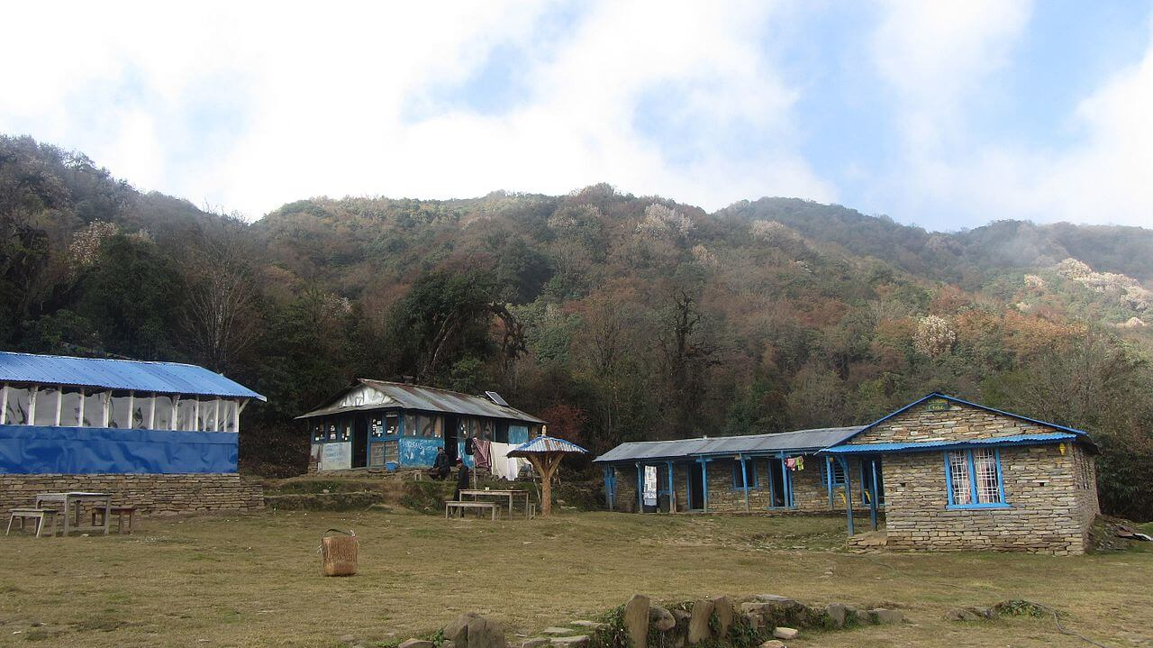Low Camp Mardi Himal