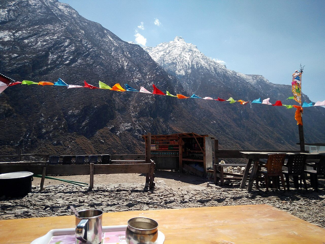 Tea House in Langtang Valley